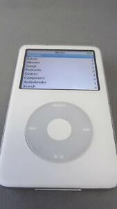 Apple iPod Classic 5 th Gen White 80GB A1136. VGC 9C7047RZV9P