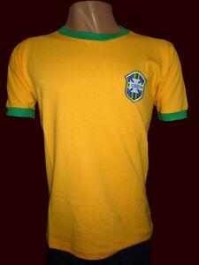 PELE SOCCER BRAZIL CHAMPION WORLD CUP MEXICO 1970 - Vintage jersey - REPLICA