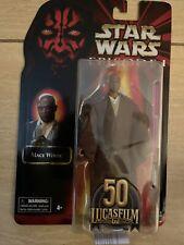 Star Wars Black Series Lucasfilm 50th Anniversary Mace Windu Figure. Unopened.