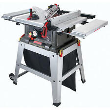 "Craftsman 10"" Table Saw Precision Speed Laser Trac Woodworking Metal Shop Garage"