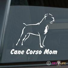 Cane Corso Mom Sticker Die Cut Vinyl - v2