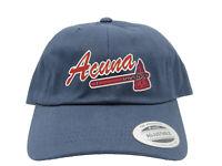 Atlanta Braves Ozzie Albies Logo Embroidered Dad Hat