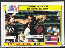 Topps 1983 Greatest Olympians - Card No 29 - Hurdler - Rod Milburn - USA