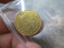 1859 FRANCE 5 FRANCS GOLD COIN IN EXTRA FINE CONDITION