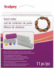 Sculpey Bead Maker Kit Tool for Perfect Round Uniform Beads 3 Sizes Polymer Clay