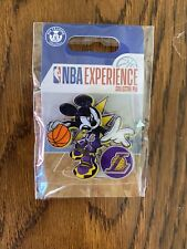 NEW DISNEY NBA Experience Collector Trading Pin LOS ANGELES LAKERS Basketball