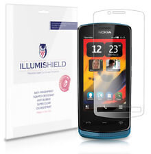 iLLumiShield Phone Screen Protector w Anti-Bubble/Print 3x for Nokia 700