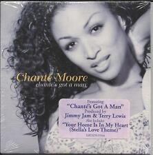 CHANTE MOORE w/ BOYZ II MEN Got a Man Limited USA CD Single SEALED w/ STICKER