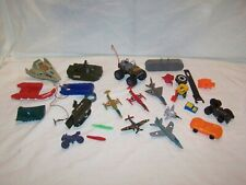 Vintage Boys Junk Drawer Lot Gi Joe Zee Toys Buckshot Plastic Airplanes Starcom