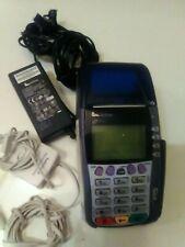 Verifone Omni 3750 Credit Card Terminal wiyh Chip Reader