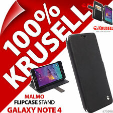 NEUF KRUSELL MALMO à clapet support étui pour Samsung Galaxy Note 4