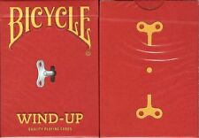 Wind-Up Bicycle Playing Cards Poker Size Deck USPCC Custom Limited Edition New