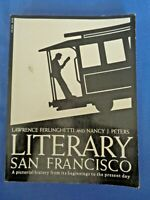 LITERARY SAN FRANCISCO Poet LAWRENCE FERLINGHETTI City Lights Bookstore History