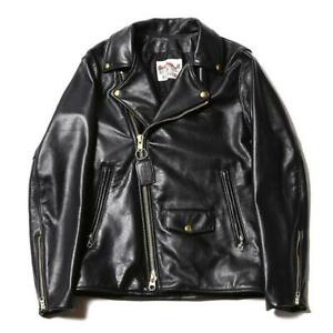 Vanson CALEE Leather Double Riders Jacket Blouson Cowhide Men 38 Rare From Japan