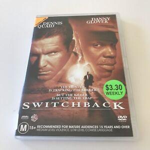 Switchback EX RENTAL DVD Dennis Quaid Danny Glover