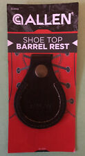 Allen Shoe Top protector Toe Barrel Rest Brown Leather Trap Skeet Clay Shooting