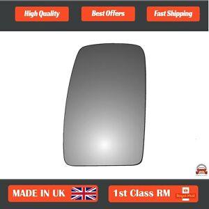 Left Passenger Convex wing mirror glass Vauxhall Movano 2004-2021 105LS