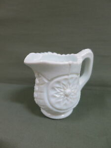 Victorian Milk Glass Creamer Jug