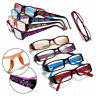 Fashion Elders Women Rimed Reading Glasses Resin Presbyopic Eyeglasses Diamond