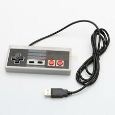 Classic Wired USB Game Controller Gamepad for Nintendo NES PC Windows CA