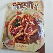 Pasta Food & Wine Books 1997 Hc Cookbook & Bonus Chocolate Booklet