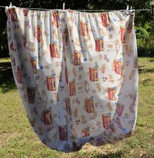 Vintage Springmaid BARNUM'S ANIMAL CRACKERS full Size Fitted Sheet
