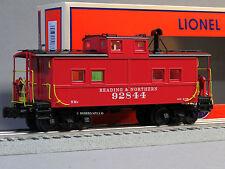 LIONEL READING BLUE MNT & NORTHERN LIGHTED CABOOSE 92844 o gauge train 6-83359