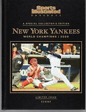 Sports Illustrated New York Yankees 2009 World Series Champions Hard Cover NR/MT