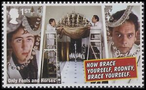 GB Only Fools and Horses A Touch of Glass 1st single MNH 2021