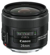 CANON OBIETTIVO LENS EF 24 mm f/2.8 IS USM NUOVO GARANZIA CANON ITALIA
