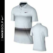 🆕Nwt $80 Nike Mobility Stripe Polo Previous Season Wolf Grey 725537-012 Small