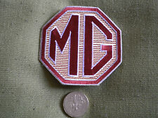 75mm MG LOGO MOTORING EMBROIDERED PATCH