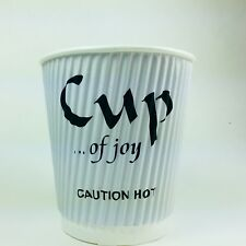 900 Coffee Paper Cups Hot & Cold Individually Wrapped Home/Hotel/Party Suitable