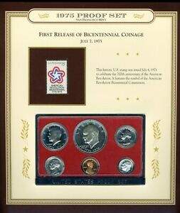 1975-S United States Proof Coin Set  CP664