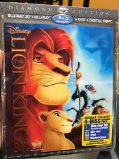The Lion King (Blu-ray/DVD, 2011, 4-Disc Set, Diamond Edition Includes... 3D