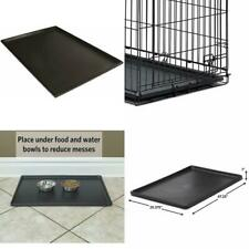 Pet Dog Crate Replacement Pan Plastic Liner Repl Tray Floor Cage Kennel 48 Inch