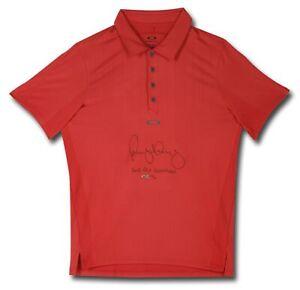 "Rory McIlroy Signed Autographed Red Golf Polo Shirt ""2012 PGA Champ"" #/25 UDA"