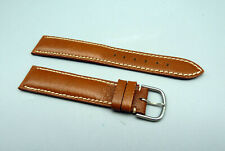 RREF Orig IWC swiss Leder Armband Braun leather strap brown 18mm TOP unbenutzt