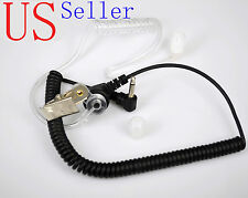 Universal 3.5mm Listen-Only Acoustic Headset/Earpiece For Radio Walkie Talkie