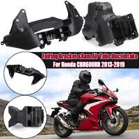 Ram Air Tube Duct Intake  & Fairing Bracket Motocycle For Honda CBR600RR 2013-19