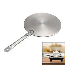 21 cm Induction Cooktop Converter Interface Disc Stainless Steel Cook Top Sliver