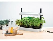 WHITE INDOOR HOME/OFFICE SELF WATERING MICRO GROW LIGHT GARDEN KIT PLANT GROWING