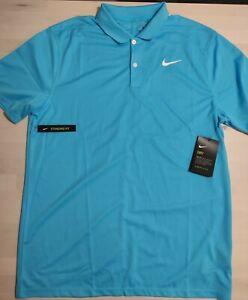 Nike Dry Golf Funktions-Polo-Shirt hellblau M