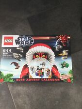 LEGO 9509 STAR WARS ADVENT CALENDAR NEW SEALED 2012 COMPLETE