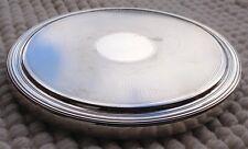 Dessous de plat rond en métal argenté Christofle