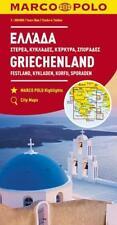 MARCO POLO Karte Griechenland, Festland, Kykladen, Korfu, Sporaden 1:300 000 (2017, Karte)
