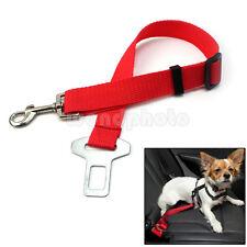 Nylon Correa Cinturón de Seguridad Coche Arnés Viaje para Mascota Gato Perro
