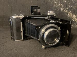 Alte Kamera Zeiss Ikon Ikonta 521/2 Bereitschaftstasche Compur Rapid