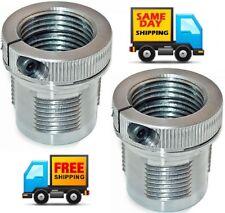 Lee Die Lock Ring Eliminator Breech Lock Quick Change Bushings  TWO Pack ! 90063