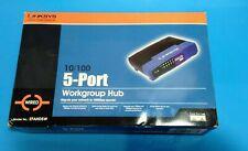 Linksys 5 Port Etherfast Uplink 10/100 Workgroup Hub EFAH05W